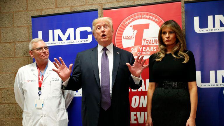 Donald Trump meets doctors