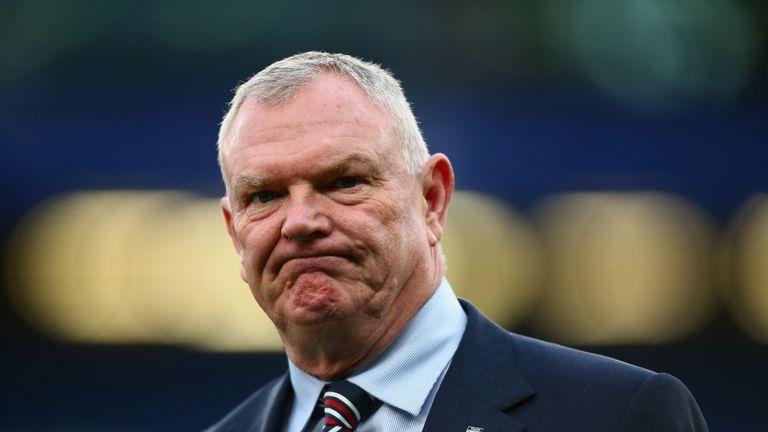 Mr Clarke said a 'storm has blown through' the FA