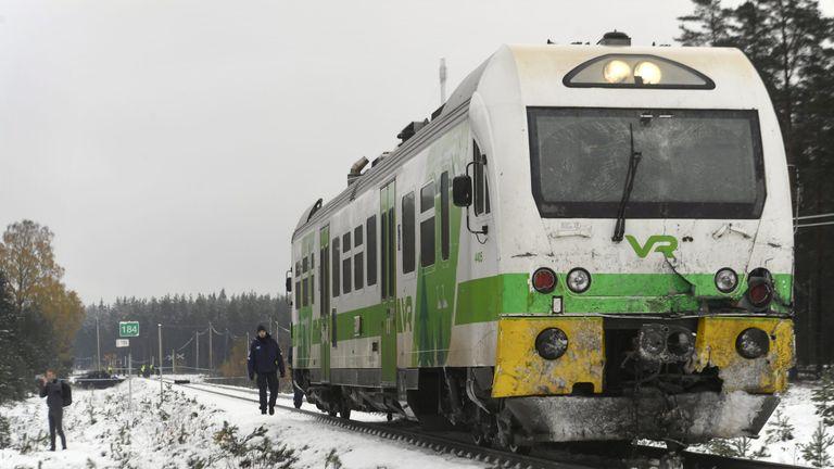 Finland train crash