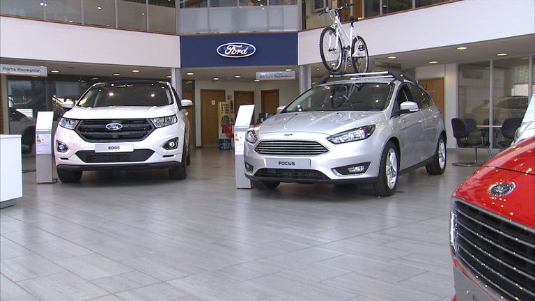 Ford sells the most popular vehicle in the UK's new car market