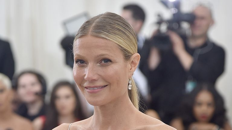 NEW YORK, NY - MAY 01: Gwyneth Paltrow attends the 'Rei Kawakubo/Comme des Garcons: Art Of The In-Between' Costume Institute Gala at Metropolitan Museum of Art on May 1, 2017 in New York City. (Photo by Theo Wargo/Getty Images For US Weekly)