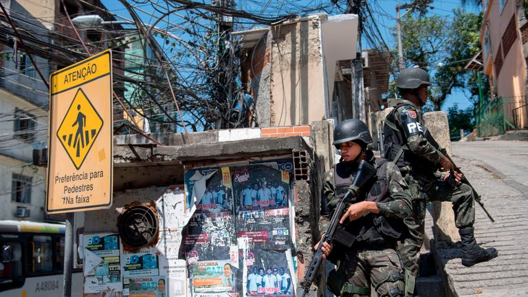 Battles between drug traffickers and gangs have caused chaos in the neighbourhood