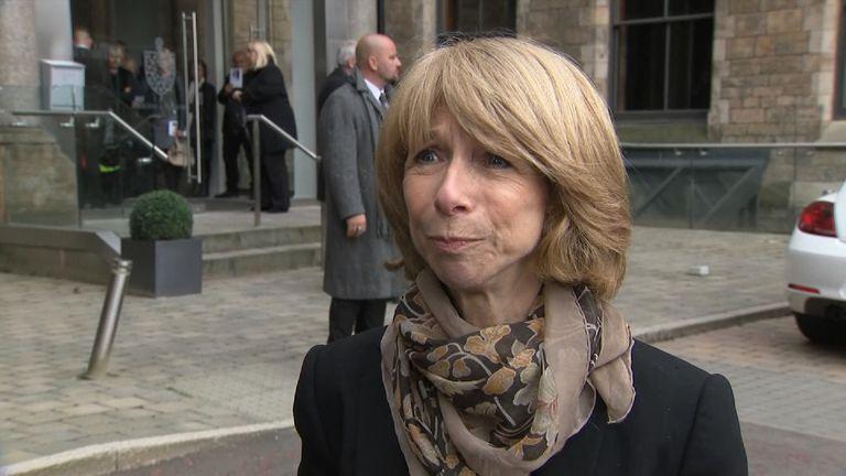 Helen Worth remembers Coronation Street co-star Liz Dawn at her funeral