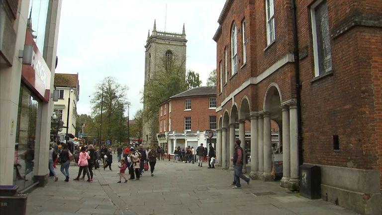 The jihadi's home town High Wycombe