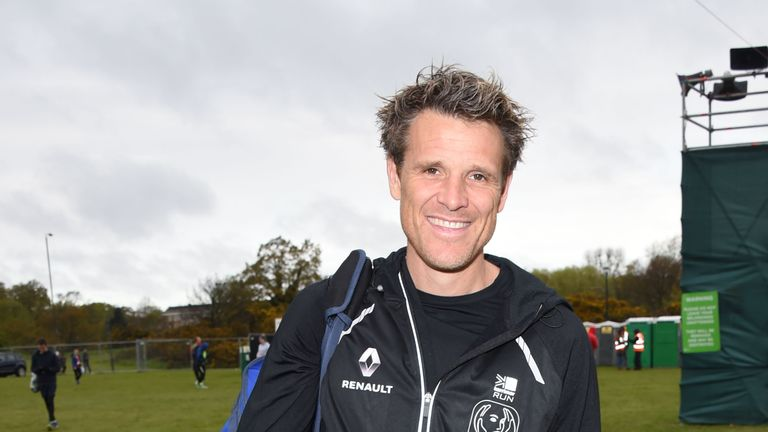 James Cracknell, at a previous athletics event