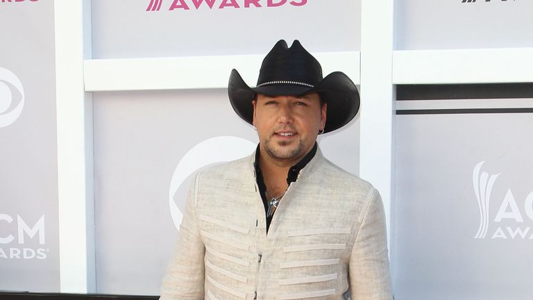 Jason Aldean was performing when the rampage began