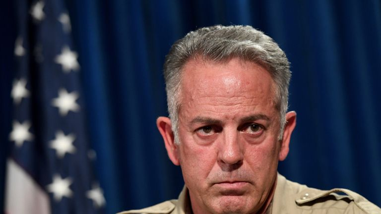 Joe Lombardo said officers were learning more every day about Stephen Paddock