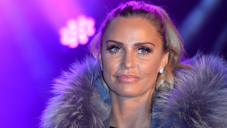 Katie Price Switches On The Woking Shopping Christmas Lights WOKING, ENGLAND - NOVEMBER 19: as Katie Price switches on the Woking Shopping Christmas Lights at on November 19, 2015 in Woking, England. (Photo by Anthony Harvey/Getty Images)