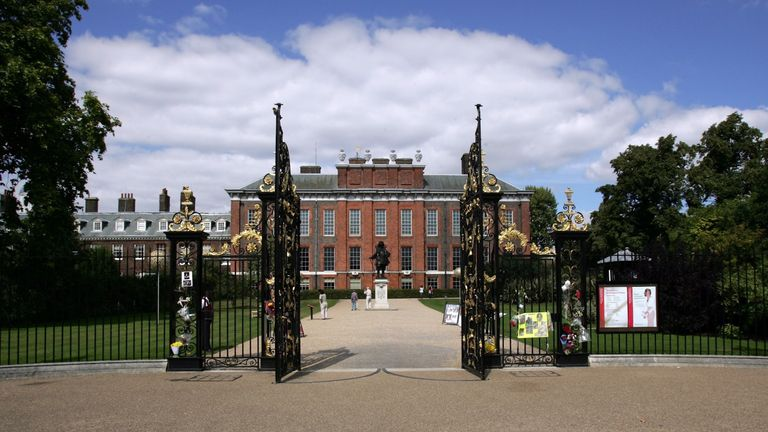 Staff from Kensington Palace (above) hold meetings with other royal households to sort out the royal diaries