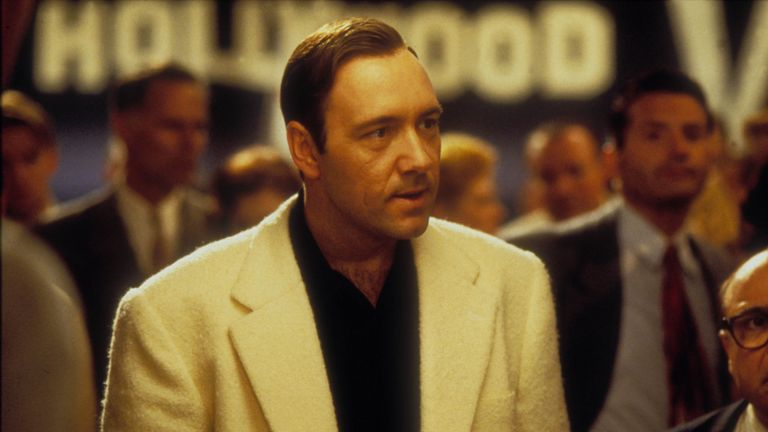 Kevin Spacey in L A Confidential