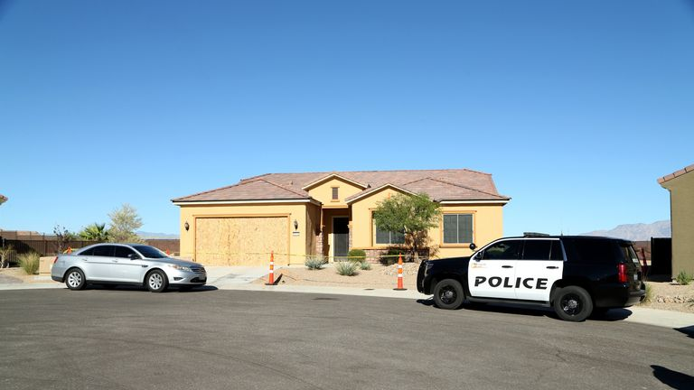 Police search Paddock's home in Mesquite
