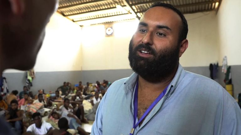 Detention centre manager, Mohamed Masoud