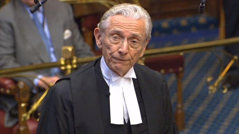 Lord Speaker, Lord Fowler