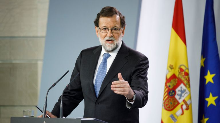 Mariano Rajoy is a bullfighting enthusiast and former civil servant