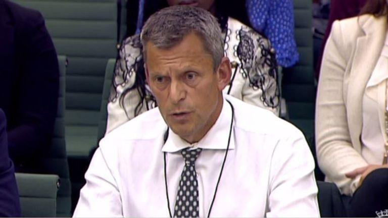 FA chief executive Martin Glenn