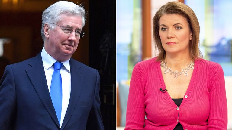 Michael Fallon and Julia Hartley-Brewer