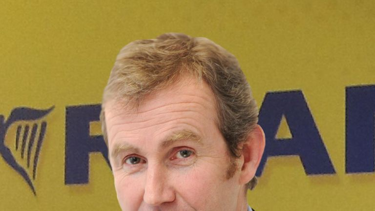 Michael Hickey has been with Ryanair for almost 30 years. Pic: Ryanair