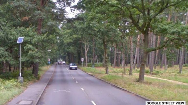 Monument road. Pic: Google Street View