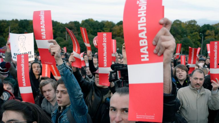 Thousands of protesters gathered in 25 cities to demand greater opposition in politics.