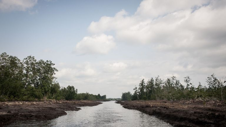 The Delta state is an oil-producing area of Nigeria that has been affected by conflict