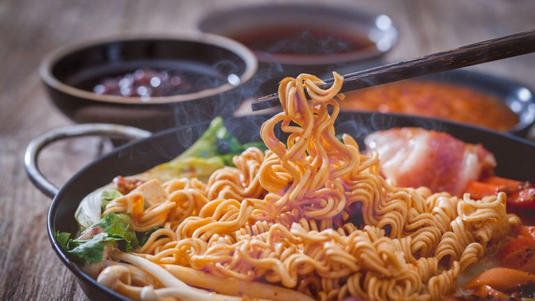 Noodle slurping can really bug some people