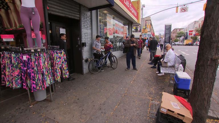 Washington Heights in New York is among the areas hit hard by the opioid crisis