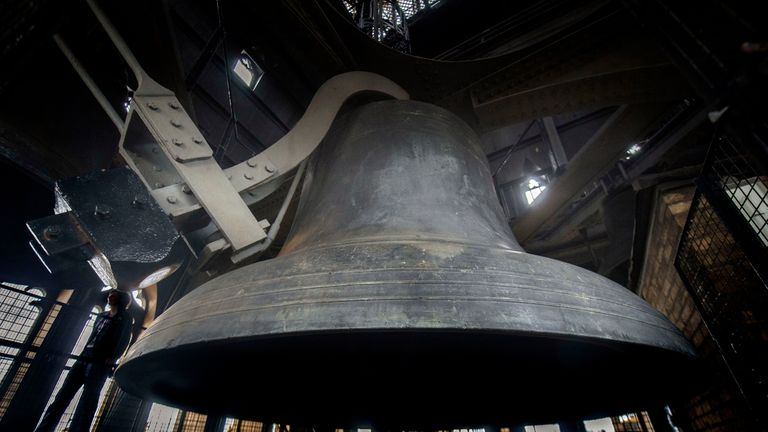 File photo dated 17-08-2017 of the Big Ben bell within the Elizabeth Tower. Big Ben will ding dong merrily on high when its bongs are restored for Christmas.