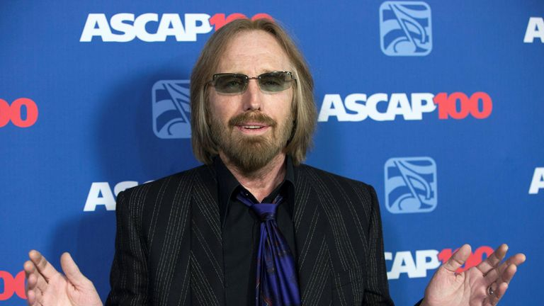 Petty was famous for tracks including Freefallin and Learning to Fly