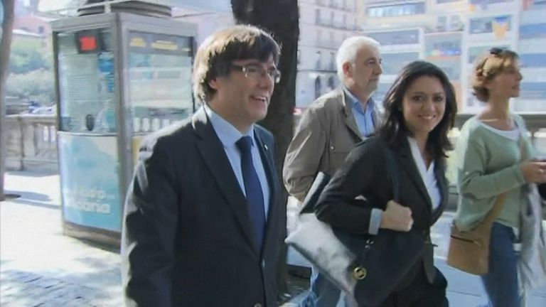 Carles Puigdemont is facing charges including rebellion and sedition