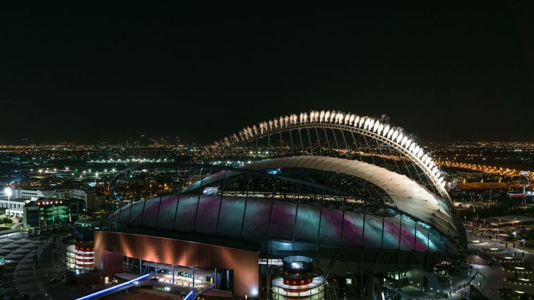The Khalifa International Stadium was the first 2022 venue to be completed