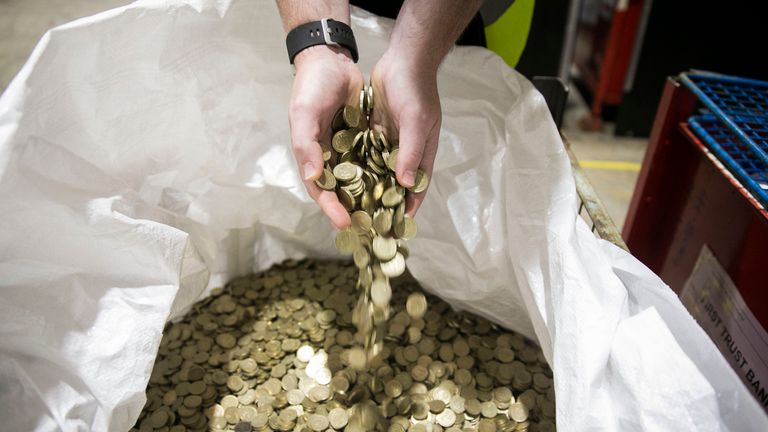Millions upon millions of round pounds remain in circulation