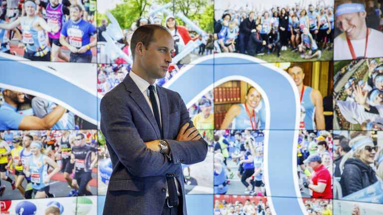 Prince William has championed mental health as part of the Heads Together campaign