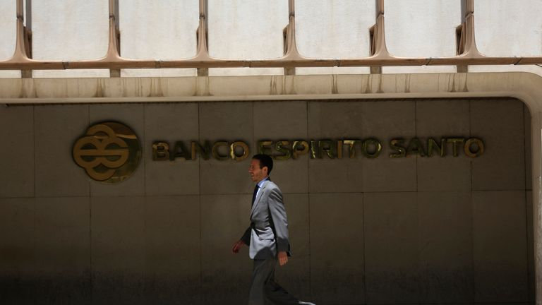 Banco Espiritu Santo collapsed in 2014