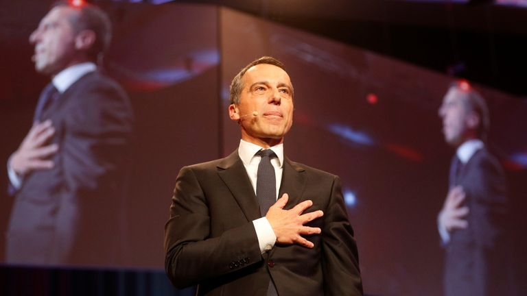 Christian Kern is currently the Chancellor of Austria - but for how long?