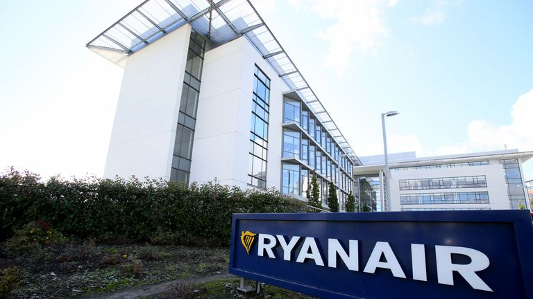 Ryanair's Dublin headquarters