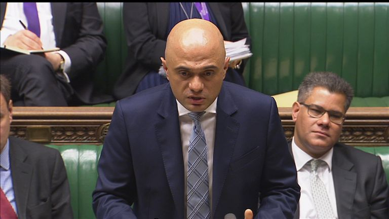 Sajid Javid hits back at Labour over Grenfell criticism