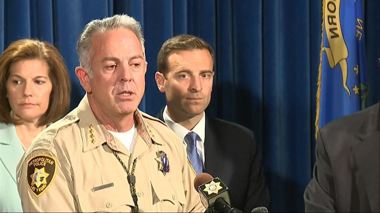 Clark County Sheriff reports that there are possibly 20 fewer injured people than first thought after Las Vegas shooting