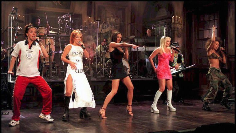 Performing in New York at the height of their fame in 1997