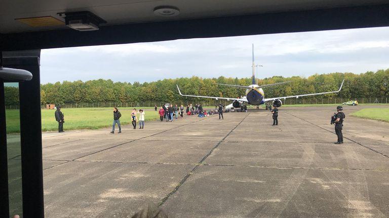 Ryanair plane. Pic: Zulu_Wooloo