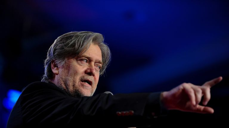 Steve Bannon leaves Breitbart days after explosive Trump book