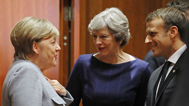 Theresa May should remember there is much that divides Angela Merkel and Emmanuel Macron