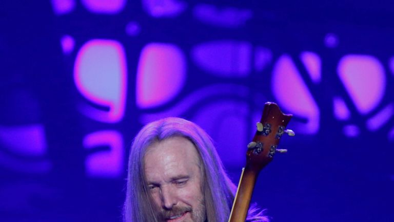 Tom Petty had recently completed a 40 year anniversary tour with his band, the Heartbreakers