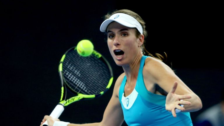 Johanna Konta Suffers Again As She Crashes Out Of China Open Sky News