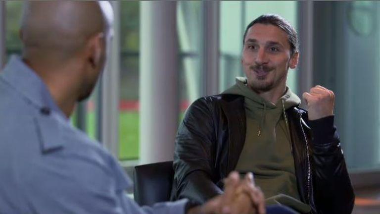 interview with zlatan ibrahimovic