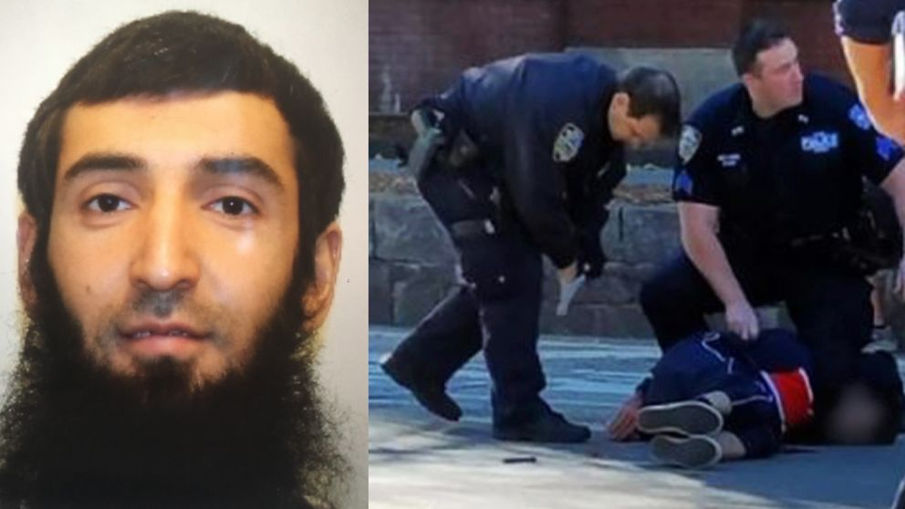 The perpetrator is believed to be Sayfullo Saipov, originally from Uzbekistan