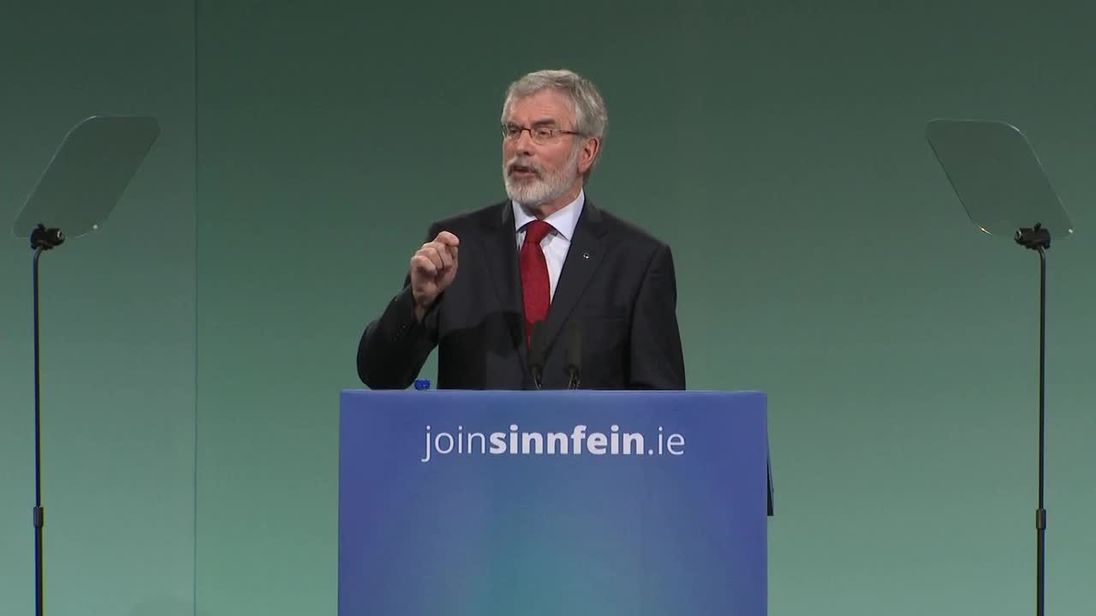 Adams expected to outline retirement plans at Sinn Féin Ard Fheis tonight