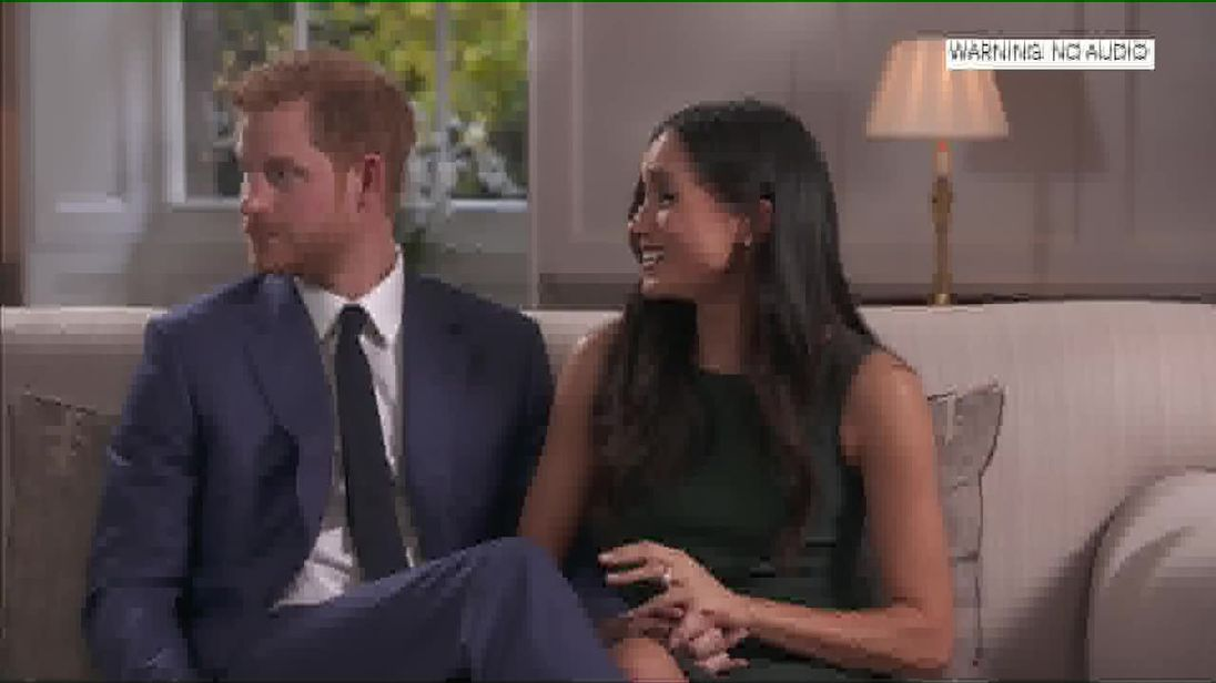 Video        Outtakes show Harry and Meghan joking around