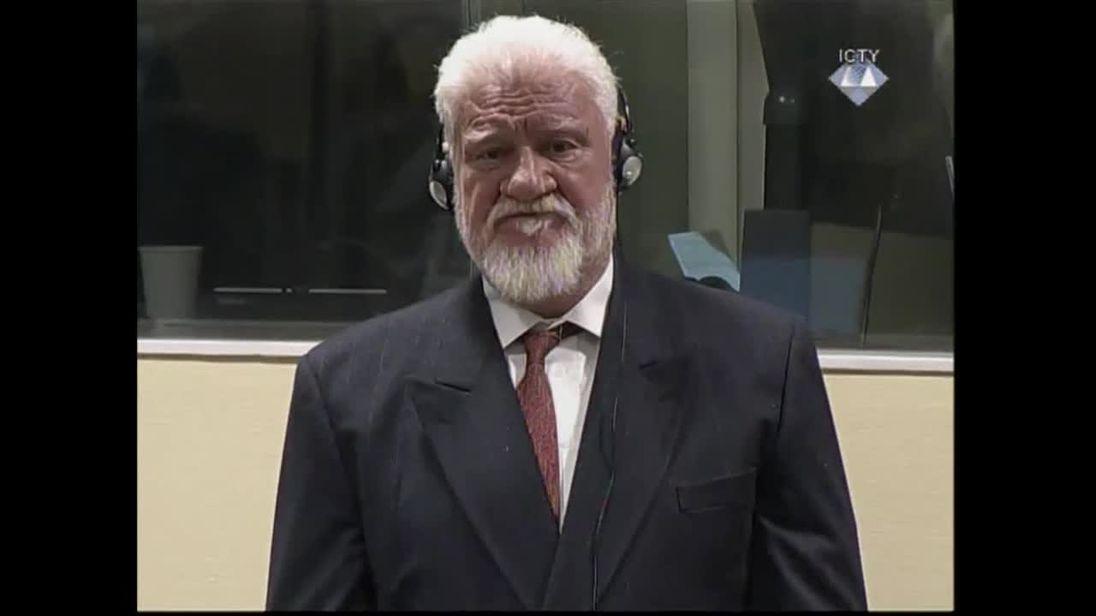 Bosnian-Croat War Crimes Suspect Slobodan Praljak 'Takes Poison' in UN Court