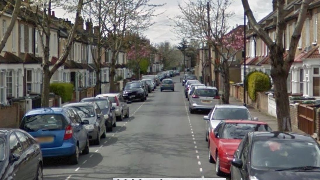 The delivery driver was attacked on Walpole Road, Walthamstow