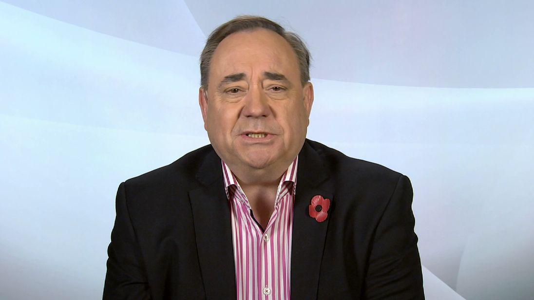 Former Scottish First Minister Alex Salmond